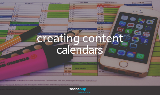 Content Calendars: A quick, easy and inexpensive solution to keep your social media pages active