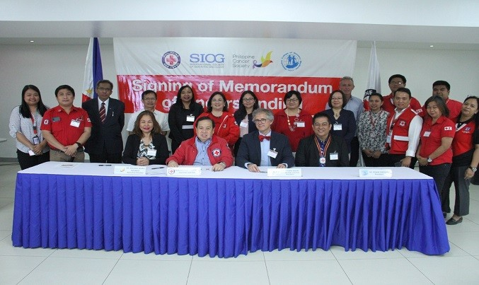 Partnership to strengthen cancer care for the elderly population in the Philippines