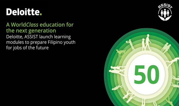 A WorldClass education for the next generation: Deloitte, ASSIST launch learning modules to prepare Filipino youth  for the jobs of the future
